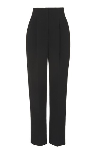 Gus Cady High-Rise Straight-Leg Pants