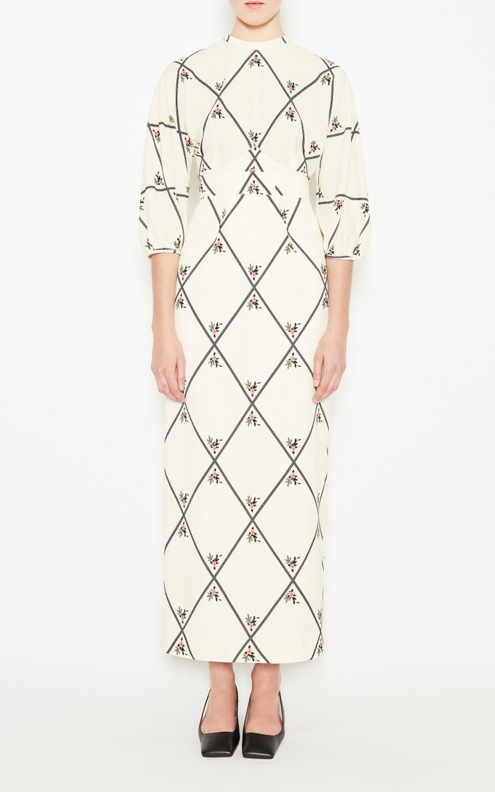 Lordina Printed Silk Skirt