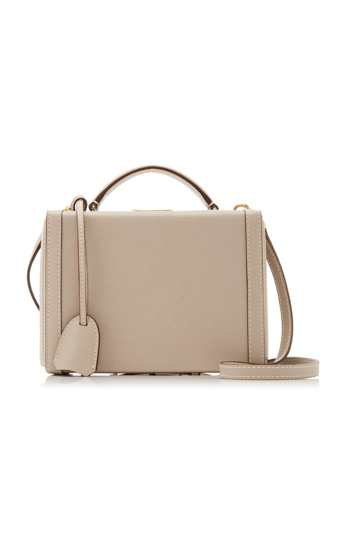 Grace Small Leather Top Handle Bag