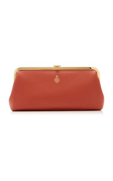 Susanna Leather Frame Clutch
