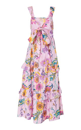 Serafina Printed Cotton Dress