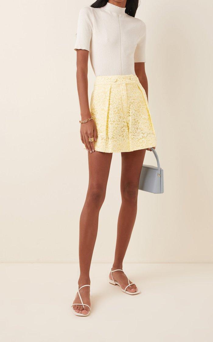 Howard Guipure Lace Shorts