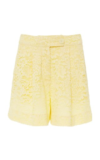 Howard Guipure Lace Shorts
