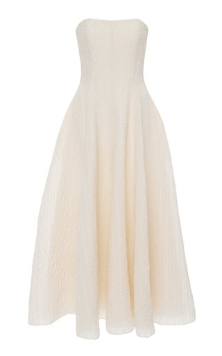 Fern Strapless Organza Dress