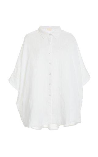Exclusive Lula Oversized Linen-Cotton Shirt