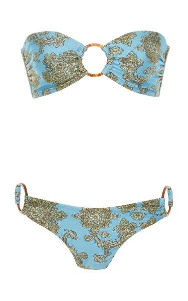 Fiesta Printed Bandeau Bikini