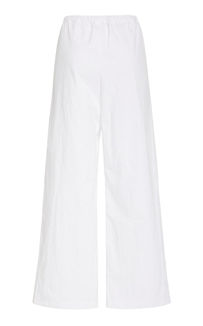 Pietro Cotton Cropped Pants