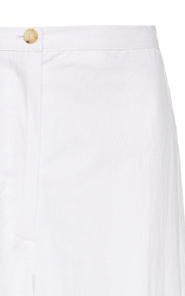 Pietro Cotton Cropped Pants