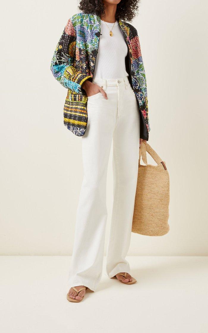 Marco Patchwork Cotton Jacket
