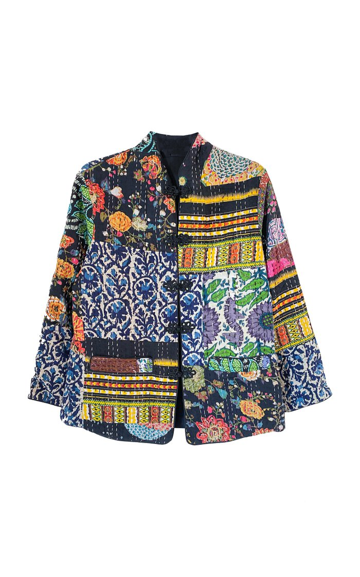 Marco Patchwork Cotton Jacket