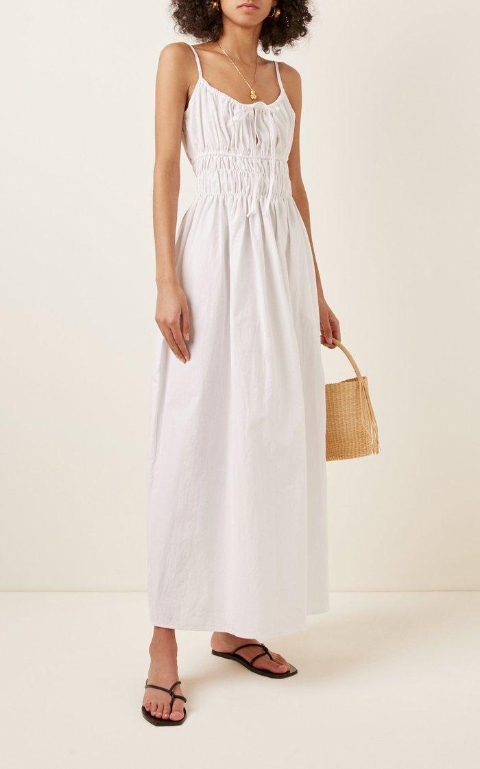 Gabi Cotton Midi Dress