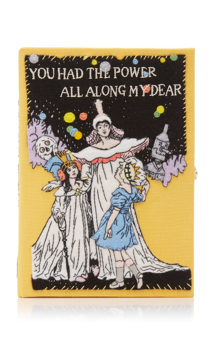 M'O Exclusive You Had The Power All Along Book Clutch