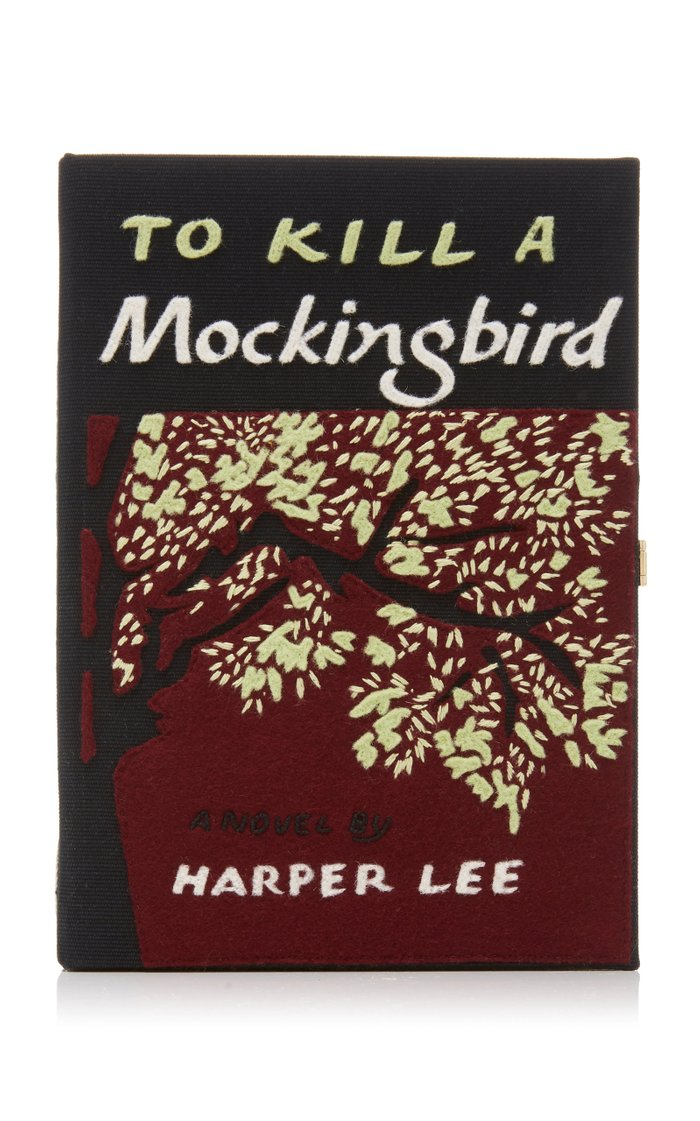 Exclusive To Kill A Mockingbird Felt Clutch