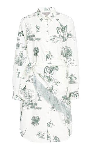 Handkerchief Cotton Shirt Dress