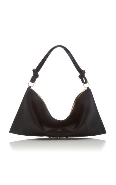 Hera Oversized Leather Shoulder Bag