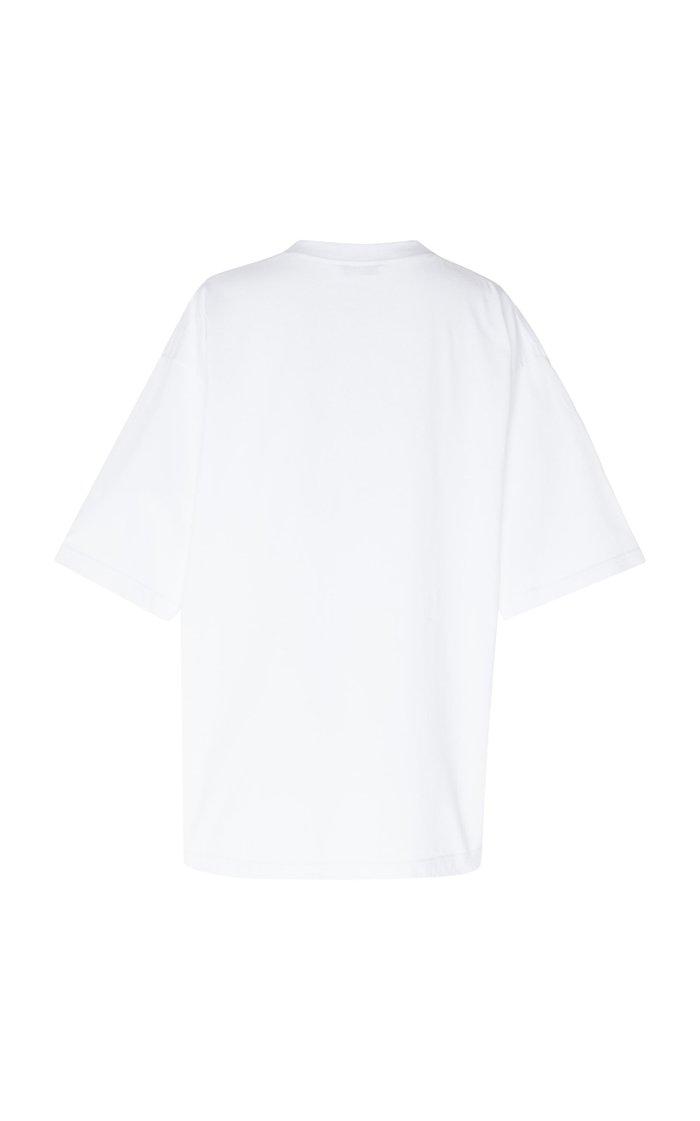 Oversized Printed Jersey T-Shirt