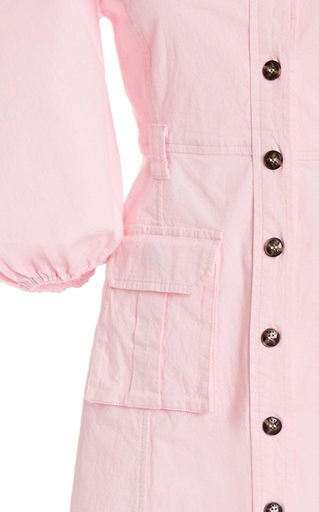 Ripstop Cotton Chino Dress