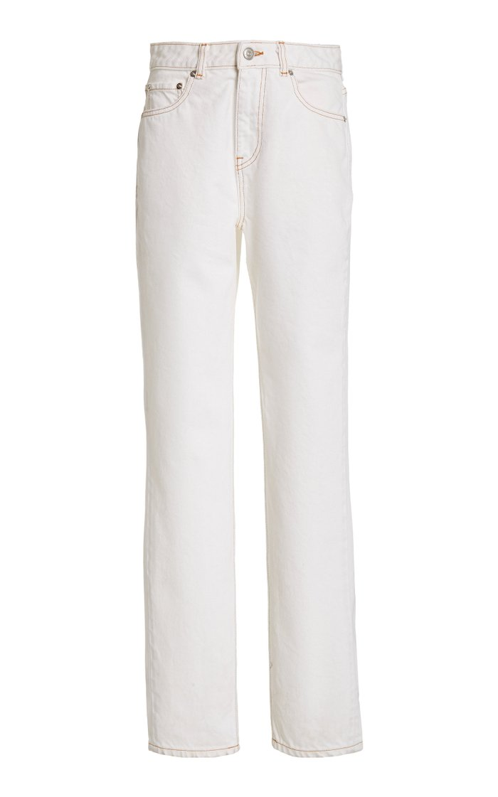 Rigid High-Rise Straight-Leg Jean