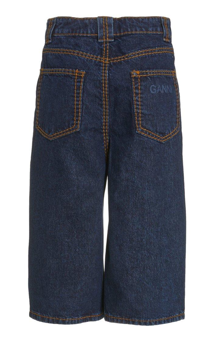 Heavy Stitch Denim Shorts