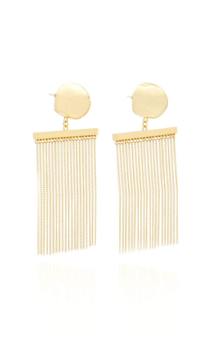 Farrah Gold-Tone Earrings