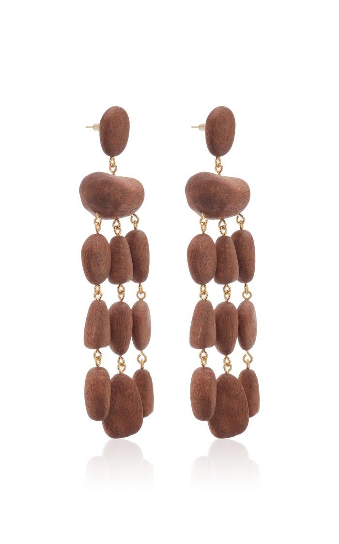 Tallulah Wood Earrings