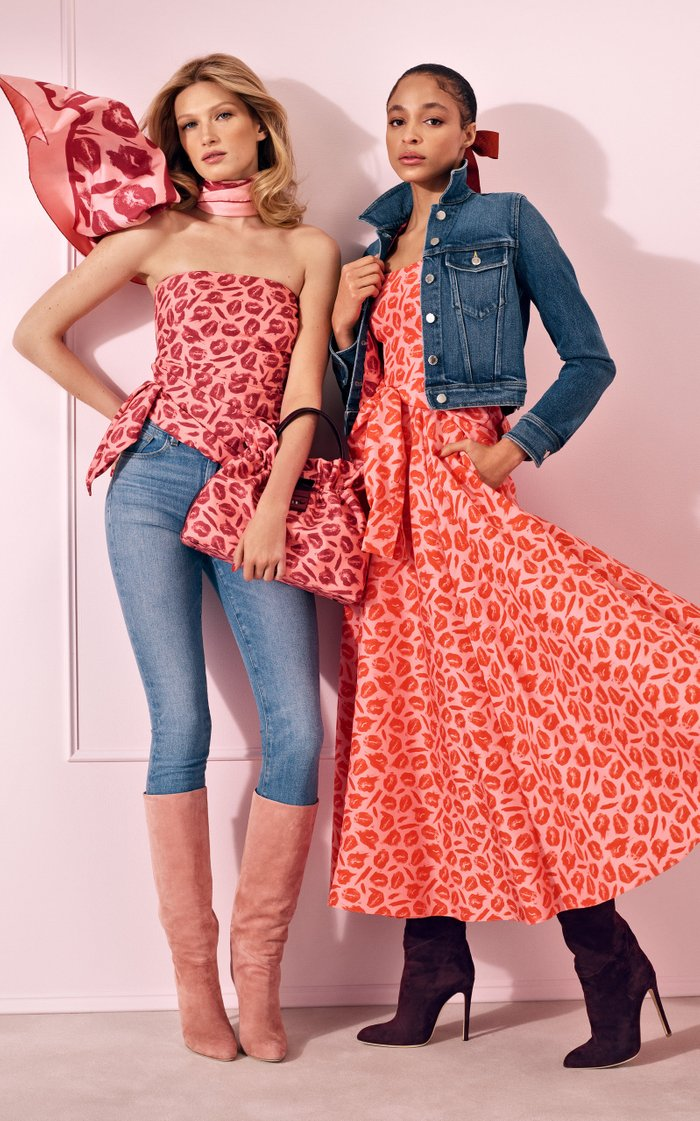 Printed Pleated Silk Maxi Dress