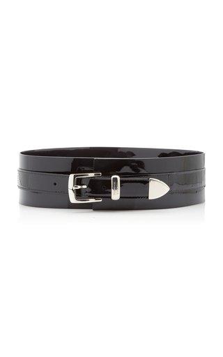 Patent Leather Waist Belt