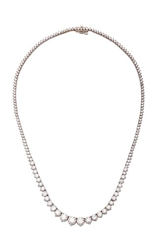 Riviera 18K White Gold and Diamond Necklace
