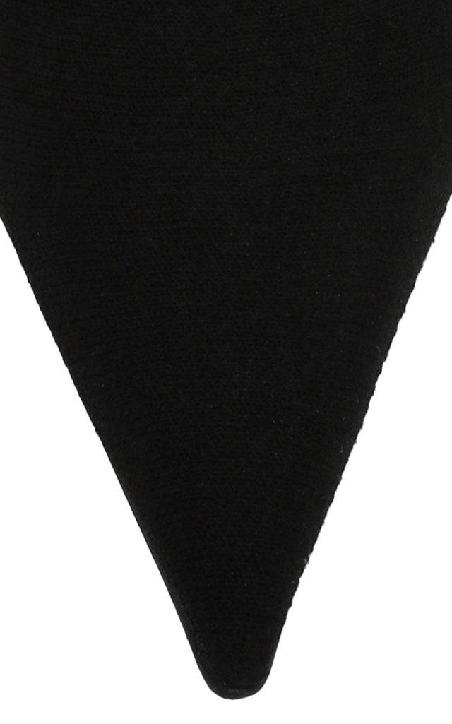 Knife Logo-Print Knit Pumps