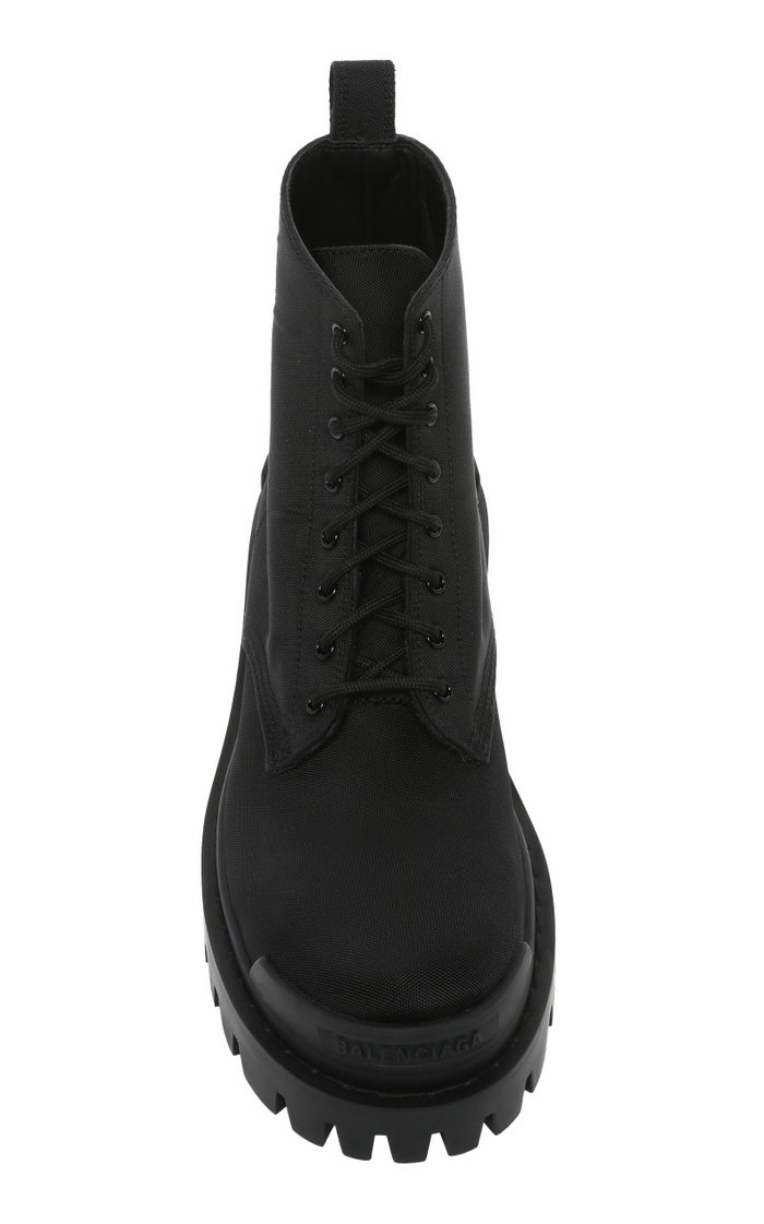 Strike Canvas Ankle Boots