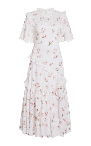 Desert Rose Cotton-Lace Ballerina Dress