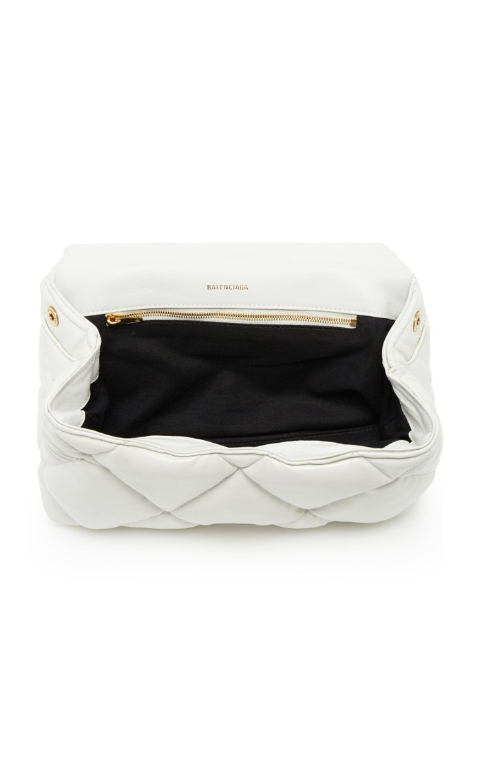Touch M Quilted-Leather Clutch