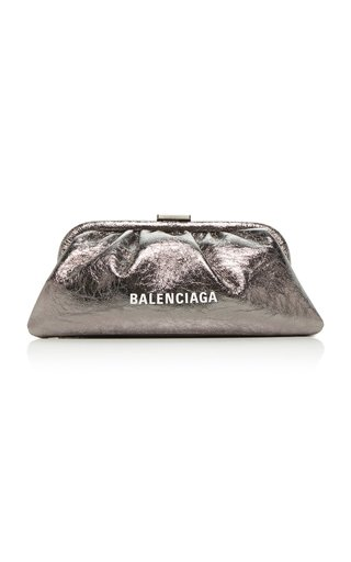 Cloud XS Metallic Leather Clutch