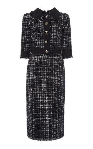 Fantasia Tweed Midi Dress