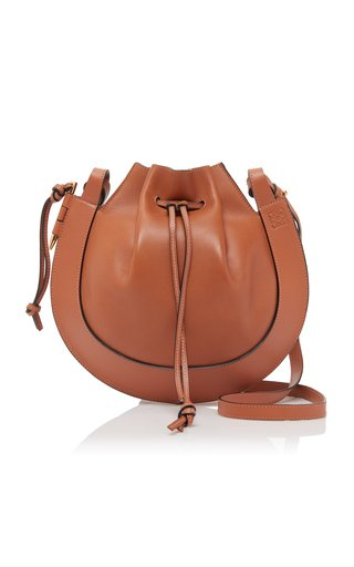 Horseshoe Leather Shoulder Bag