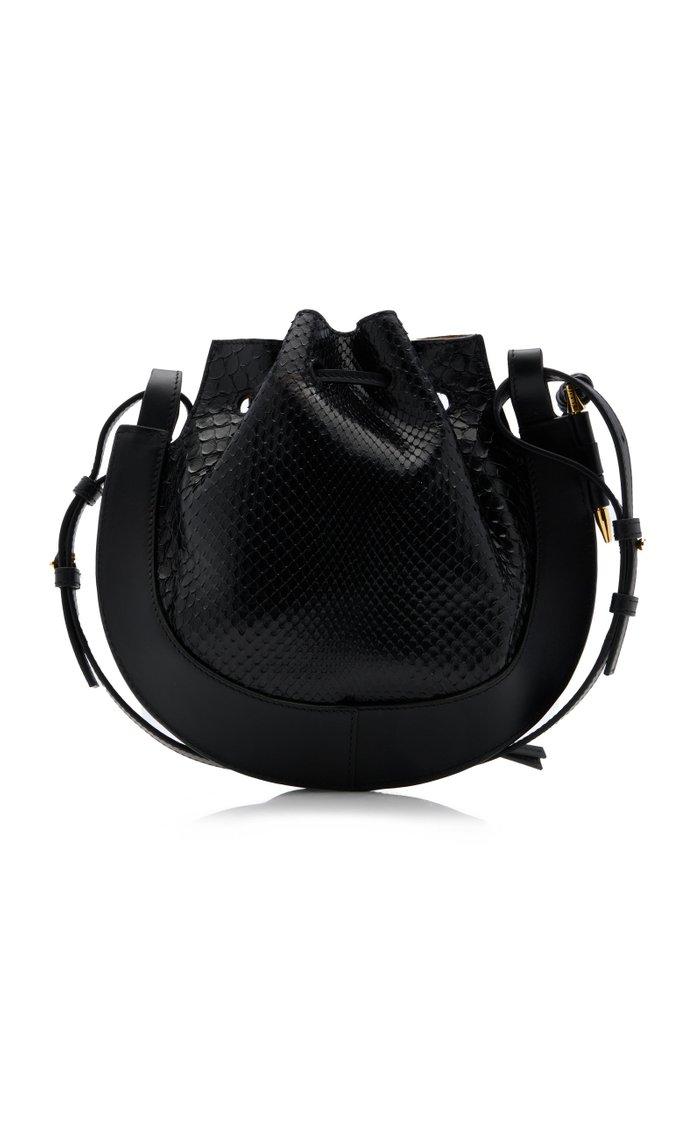 Horseshoe Small Leather Shoulder Bag