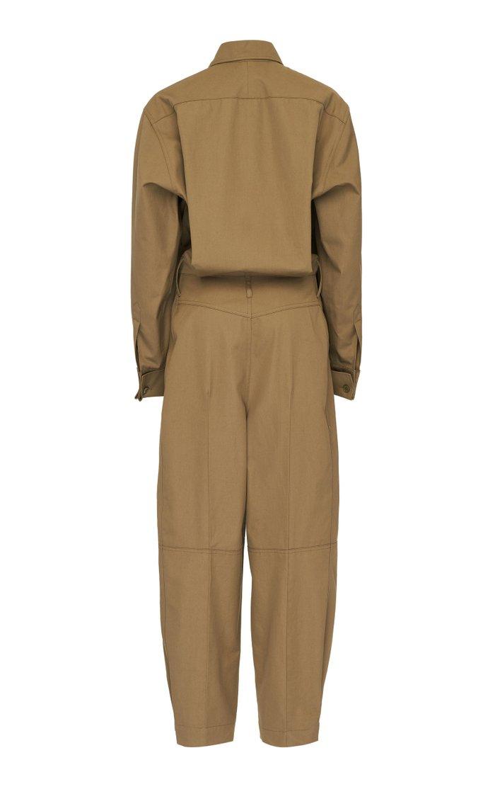 Cotton-Gabardine Jumpsuit