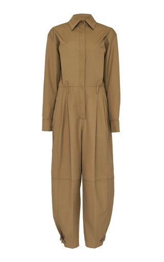 Cotton-Gabardine Jumpsuit
