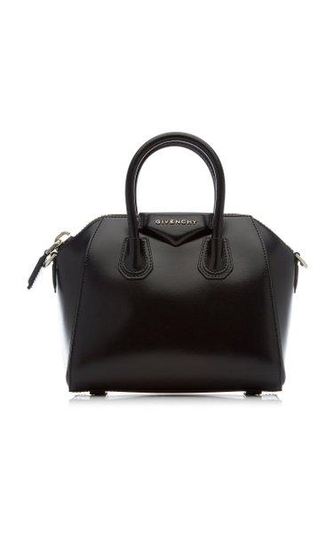 Antigona Mini Leather Shoulder Bag