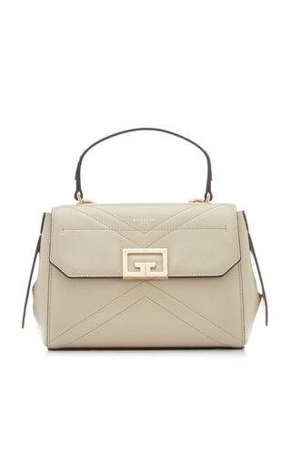 ID Small Leather Top Handle Bag
