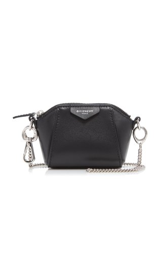 Antigona Mini Leather Shoulder Bag