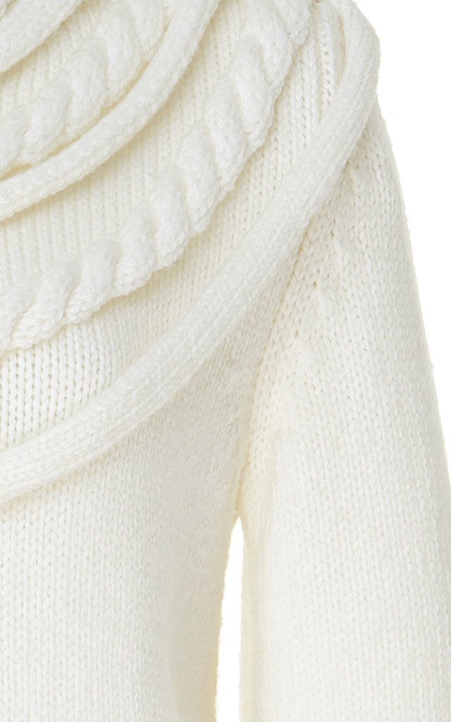 Braided Wool Sweater