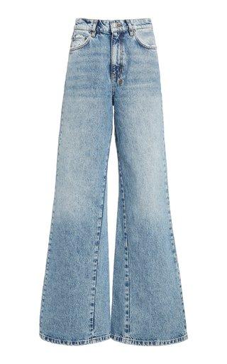Kicker Rigid High-Rise Wide-Leg Jeans