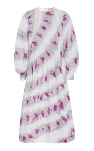 Tamara Printed Cotton-Voile Midi Dress