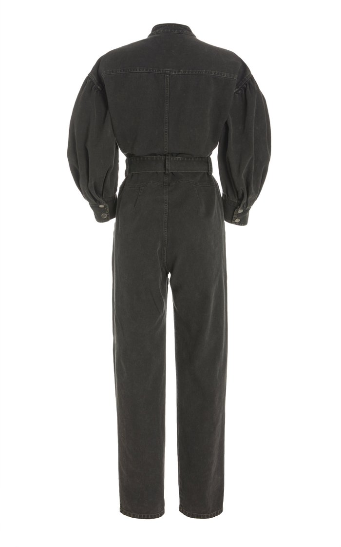 Idum Belted Denim Jumpsuit