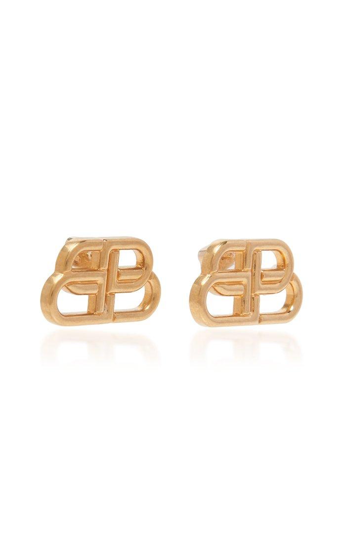 BB Gold-Tone Earrings