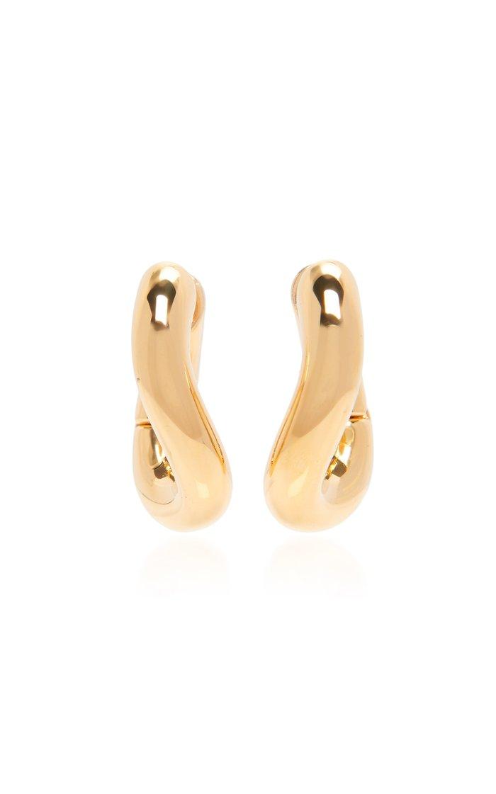 Loop Gold-Tone Hoop Earrings