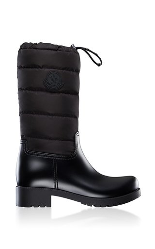 Ginette Leather Puffer Boots