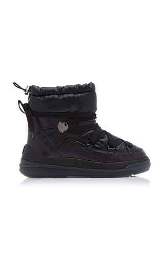 Florine Patent Leather Puffer Boots