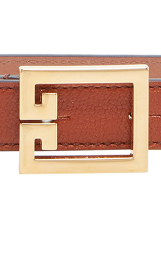Double-G Leather Belt